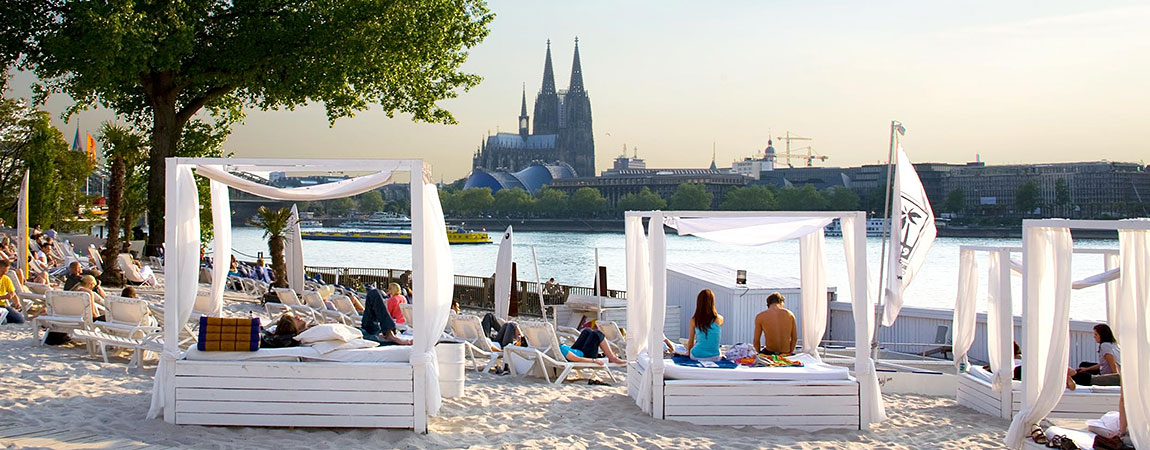 Kölner Beachclubs